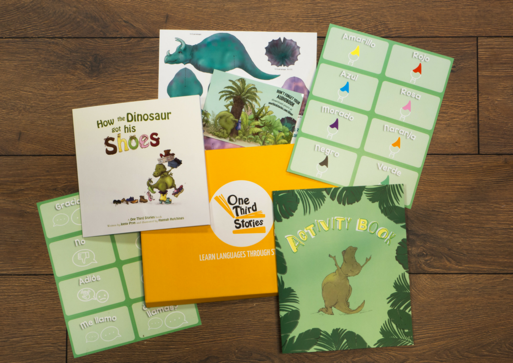 One Third Stories Subscription Box for Kids