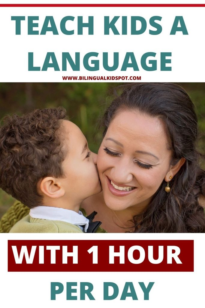 Teach Kids a Language with ONE HOUR PER DAY