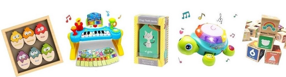 Bilingual Toys for Kids