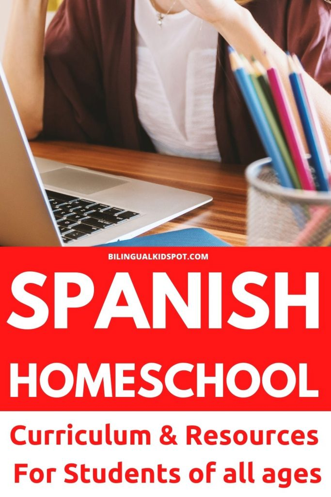 Spanish Homeschool Curriculum for all ages