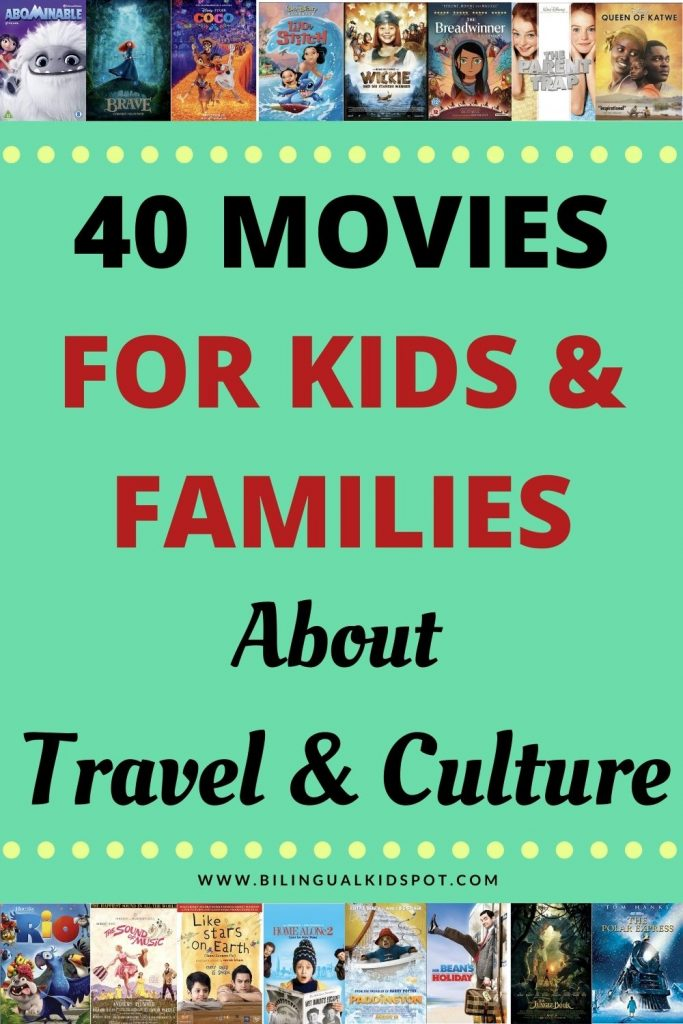 Travel Movies for Kids and Families