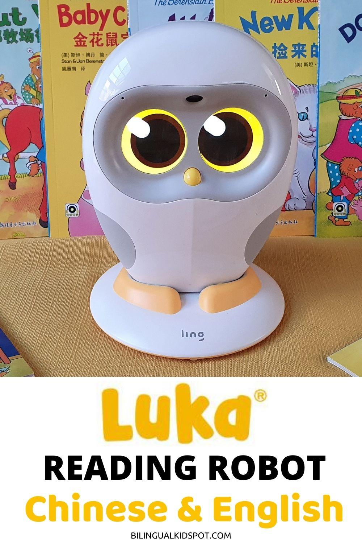 Luka Reading Robot Review Chinese English