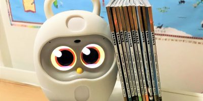 Chinese Books Luka Hero Reading Robot