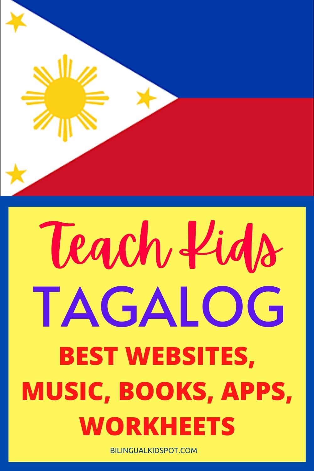 Tagalog for Kids - Filipino Resources