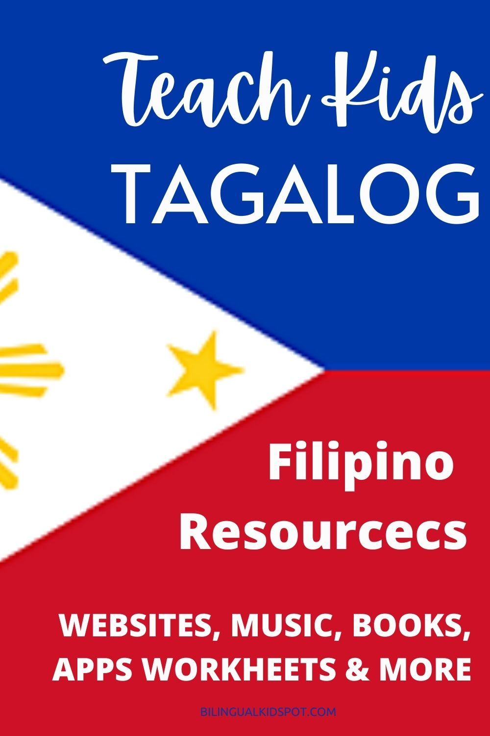 Resources to Teach Kids Tagalog - Filipino for Kids