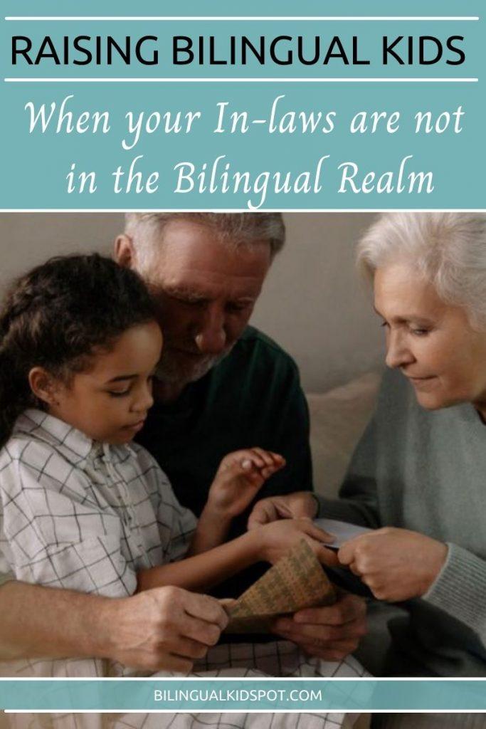 Raising Bilingual Kids when Grandparents don't agree