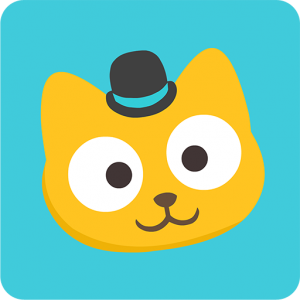 Study Cat App to learn English for kids