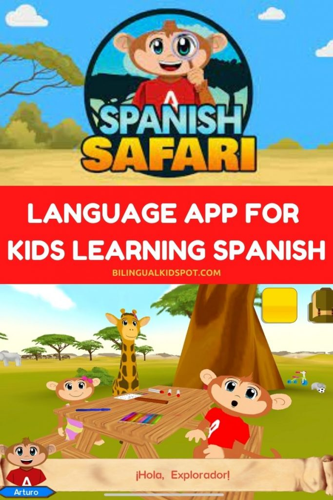 Learn Spanish with Spanish Safari App for Kids