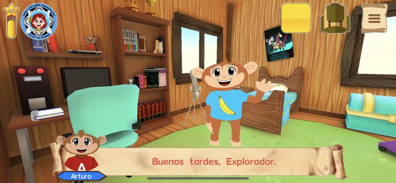 Spanish Safari App Screenshot 1