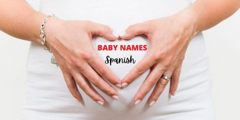 Baby names in Spanish