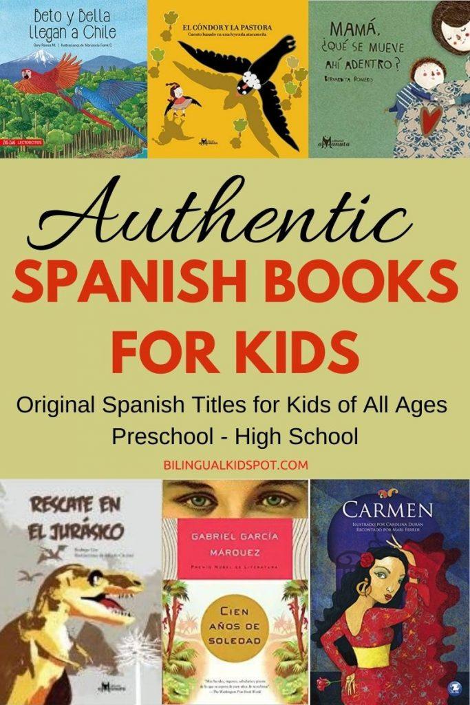 Authentic Spanish Children's Books