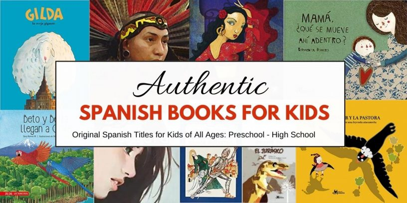 Original Authentic Spanish Children's Books