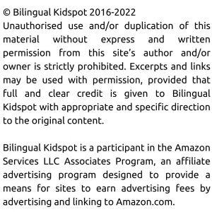 Bilingual Kidspot Disclosure